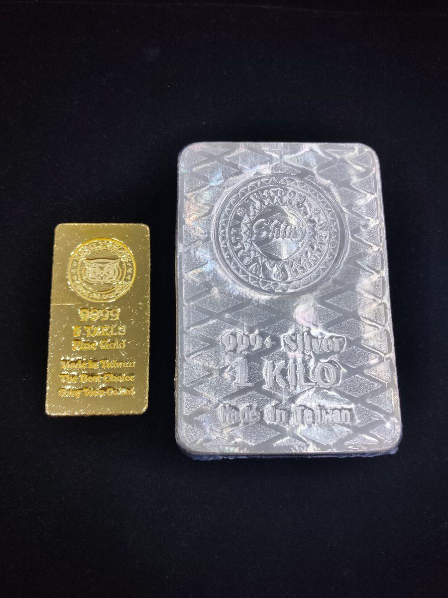 shiny silver bar 1 kilo 炫麗銀條 1公斤